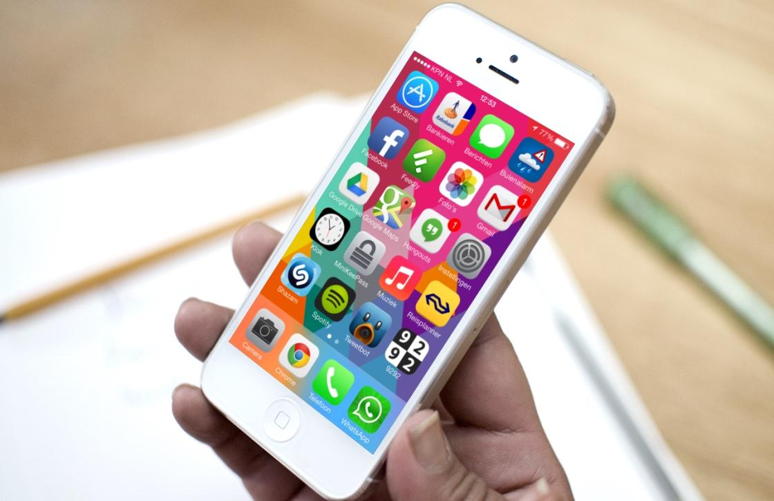 iPhone knoppen en hun functies