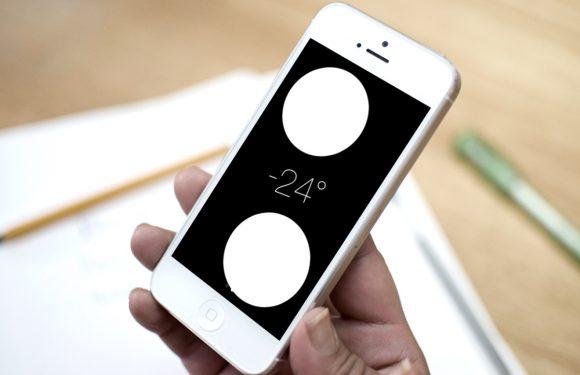 Waterpas van iPhone inschakelen