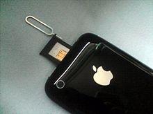 iPhone simkaart plaatsen