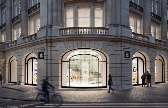 Opmerkelijk: eerste wachtende voor Londense Apple Store gespot