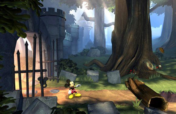 Herbeleef vroegere tijden met Mickey in Castle of Illusion
