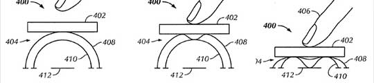 Apple patent toont drukgevoelig touchscreen