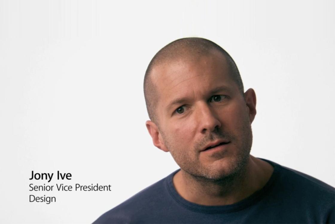 'Jony Ive steeds minder betrokken bij design Apple-producten'