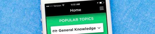 Bewijs je kennis met QuizUp