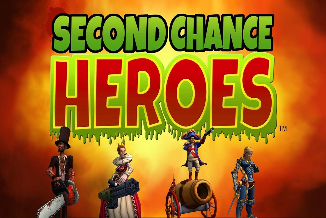 Historische figuren redden de wereld in Second Chance Heroes