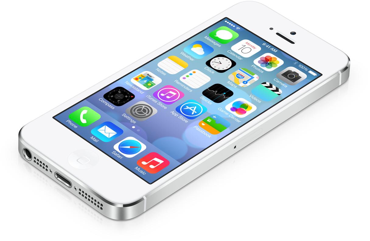 5 apps in de iOS 7 stijl
