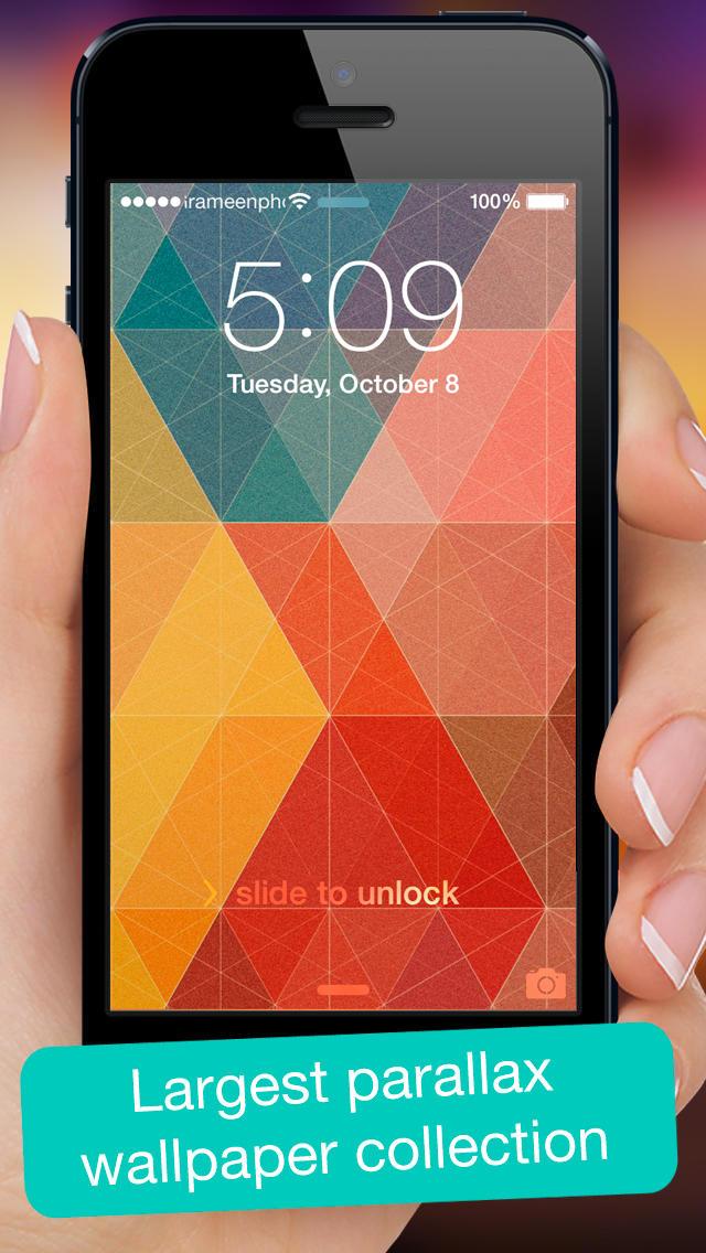 iOS 7 achtergronden
