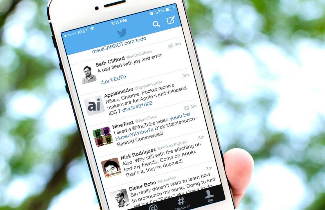 Twitter experimenteert met 'views' in Twitter iOS