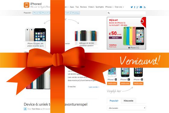 Welkom op het volledig vernieuwde iPhoned!