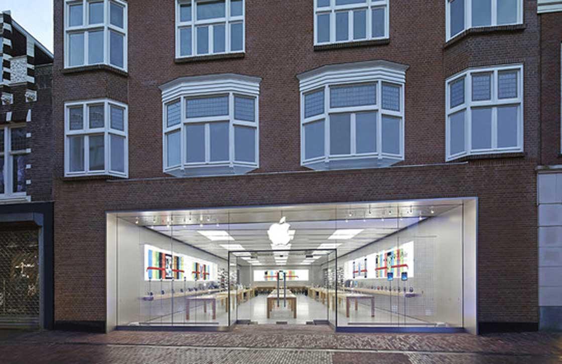 Inbraak bij Apple Store Haarlem