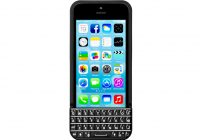 Typo Keyboard Case geeft je iPhone een BlackBerry toetsenbord