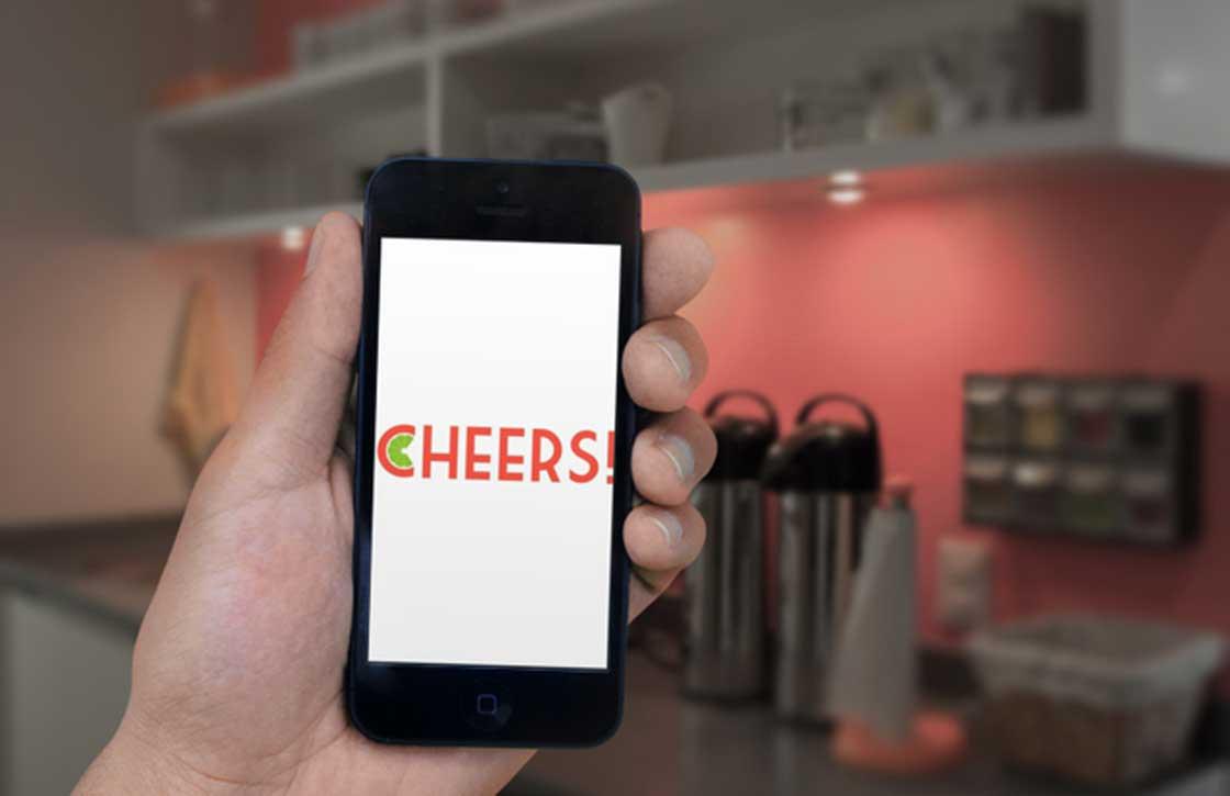 Proost alvast op het nieuwe jaar met de Cheers app