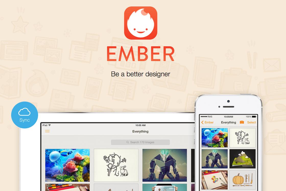 Organiseer en deel inspirerende afbeeldingen met Ember