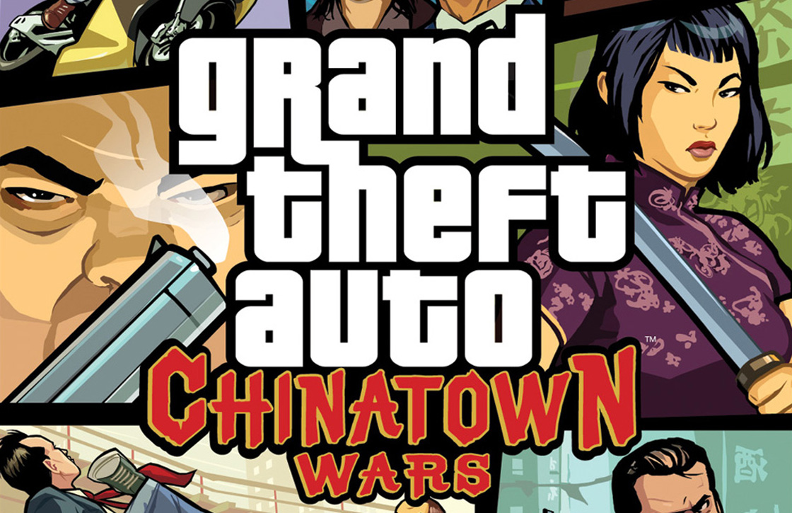 iOS 7- en Retina-ondersteuning voor GTA Chinatown Wars