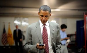 Obama iPhone beveiliging