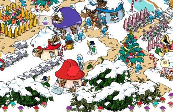 Smurfs' Village update: Kerstmis in het Smurfendorp
