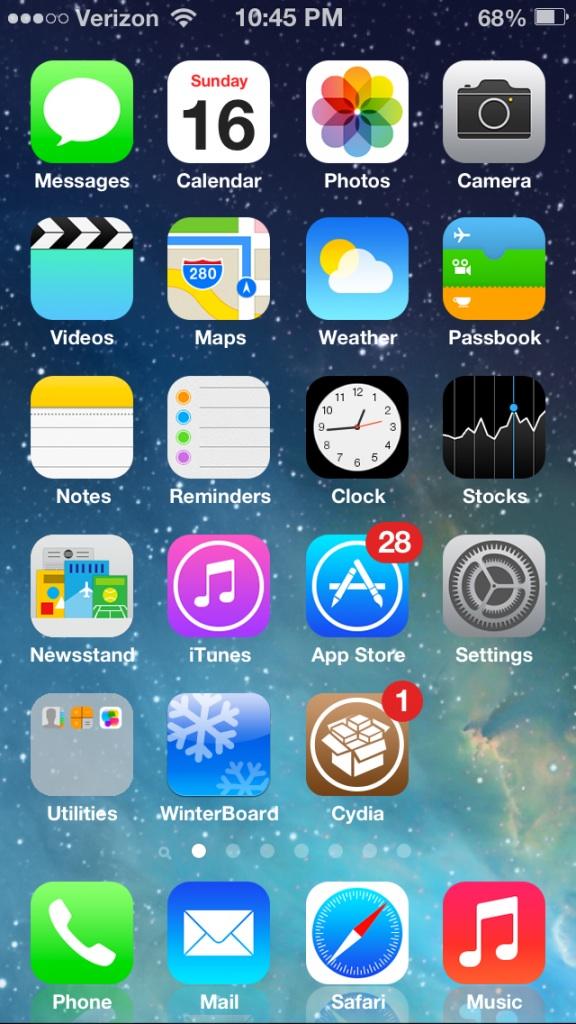 iOS 7 jailbreak 2