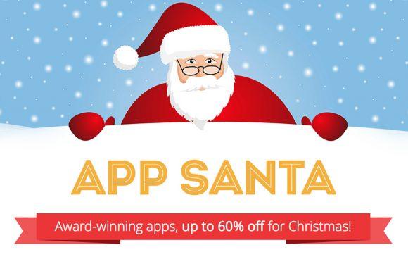 App Santa: fikse kortingen op populaire iPhone apps