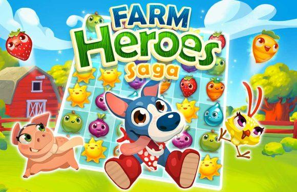 Farm Heroes Saga: nieuwe verslavende game voor je iPhone