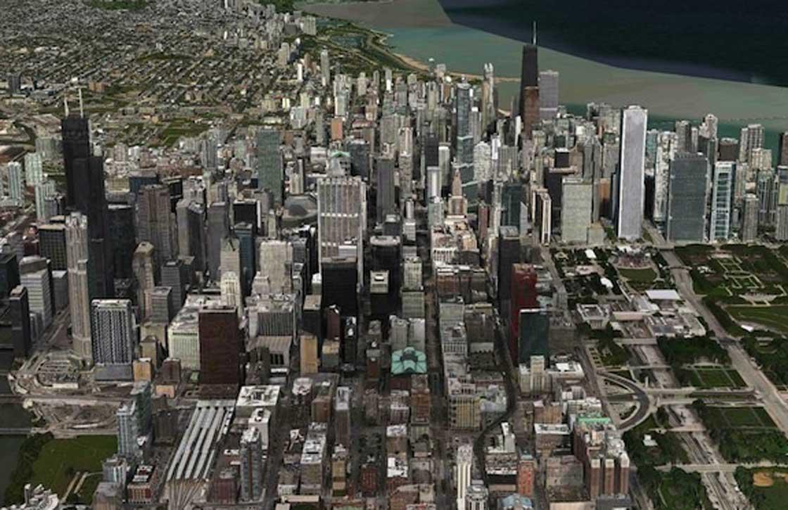 Apple Maps uitgebreid met nieuwe Flyover kaarten