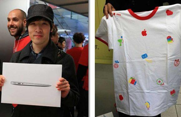 Japanse Apple Stores beginnen het jaar goed