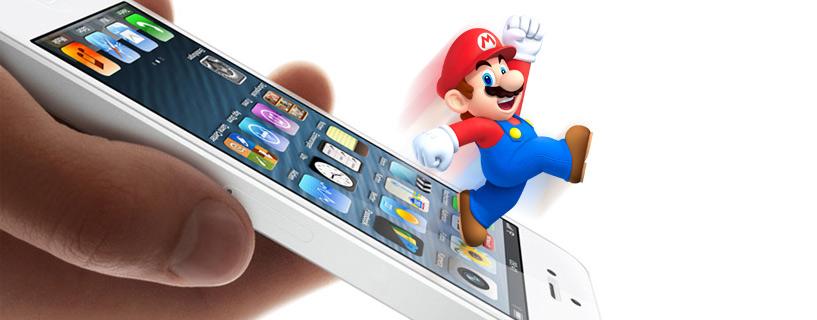 Nintendo mini-games iOS
