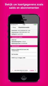 OV-chipkaart app iphone