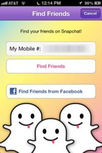 Snapchat lek