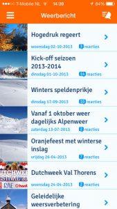 Sneeuwhoogte app 2