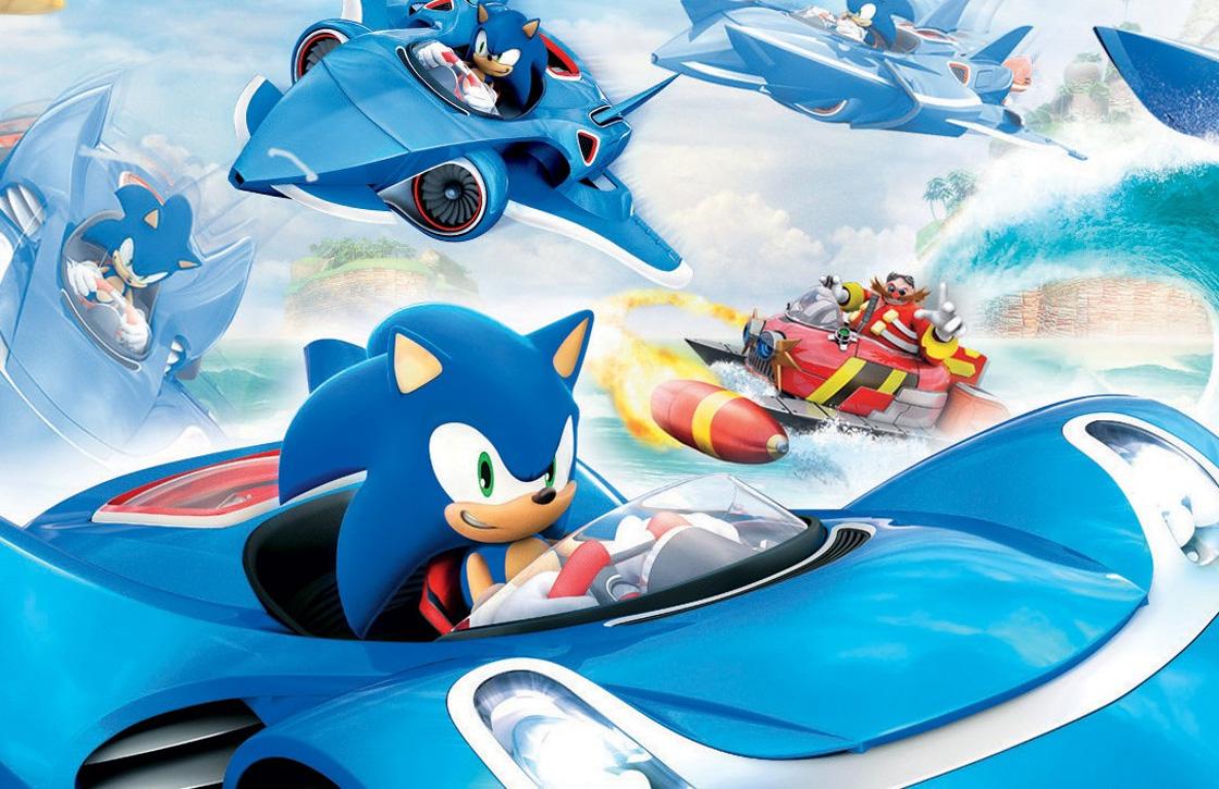 Race met Sega-mascottes in Sonic & All-Stars Racing Transformed