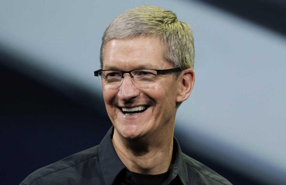 Apple-directeur Tim Cook: 'iPhone 5S verkoopt beter dankzij Touch ID'