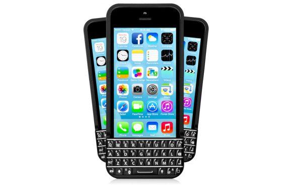 iPhone BlackBerry toetsenbord voor het eerst te zien in video