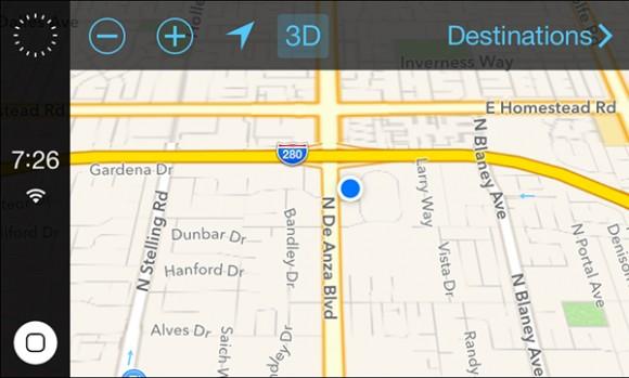 Nieuwe beelden van iOS in the Car opgedoken
