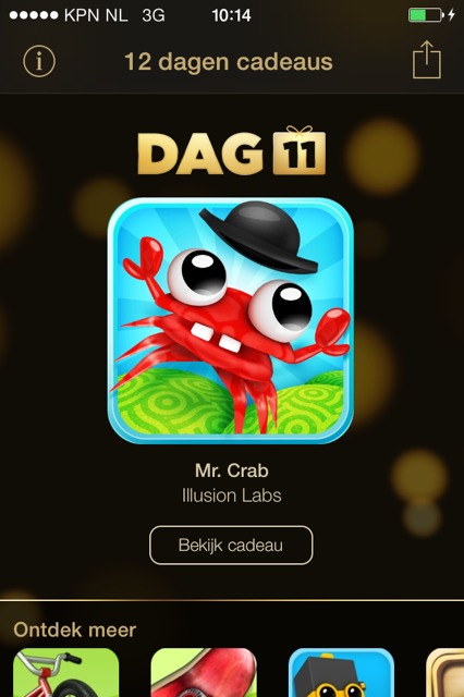 gratis mr. crab