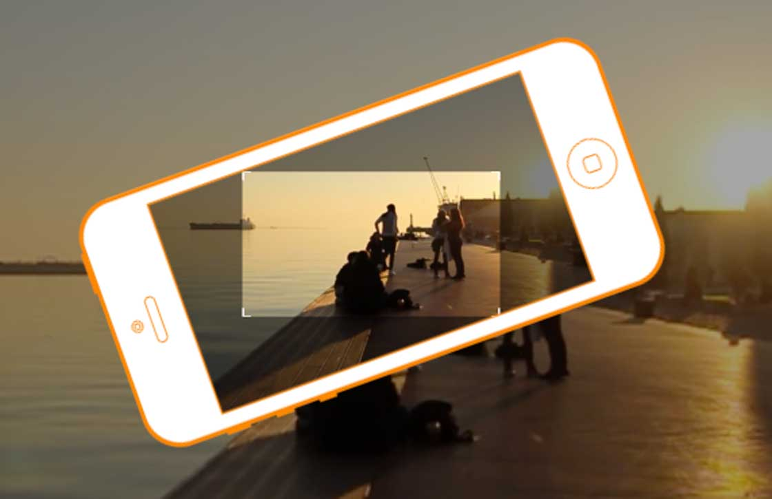 Horizon app: altijd horizontale video's op je iPhone