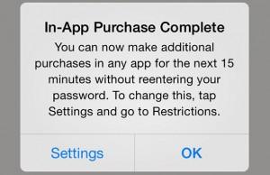 iOS 7.1 informeert