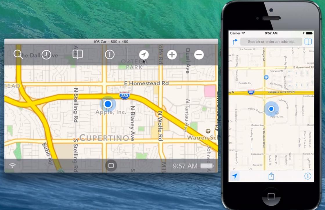 Video: iOS in the Car filmpje toont interface voor navigatie