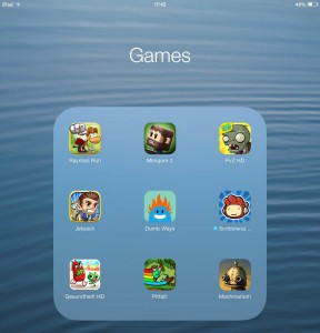 iPad Mini tips games