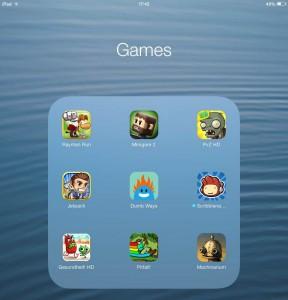 iPad Mini tips games