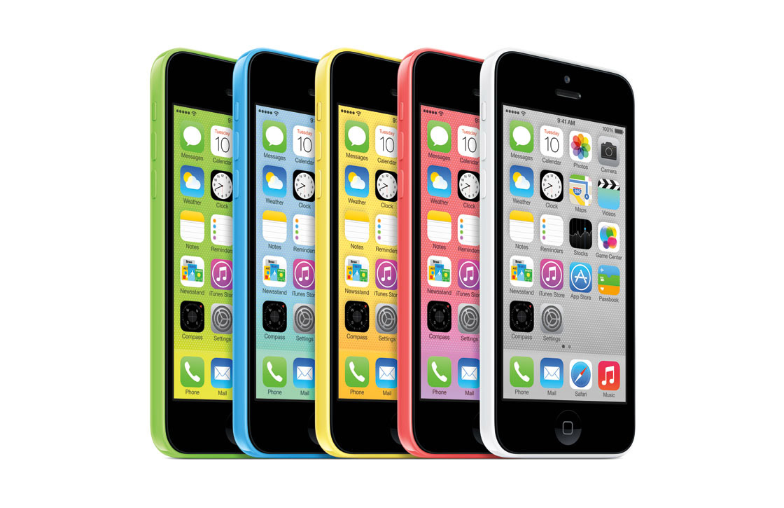 Werkelijke iPhone 5C opslagruimte groter dan bij andere smartphones