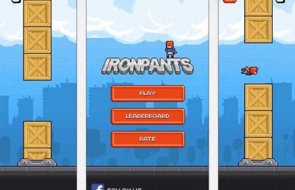 Speel nu Ironpants, dé opvolger van Flappy Bird