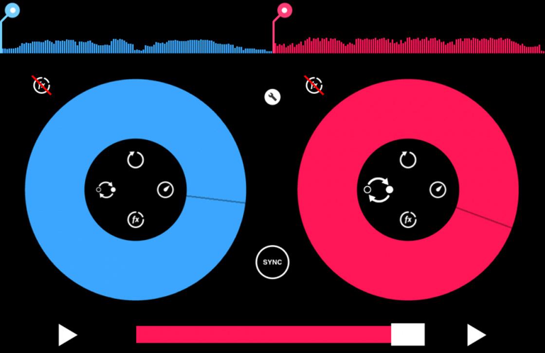 Scratch en vervorm tracks met de Pacemaker iPad-app