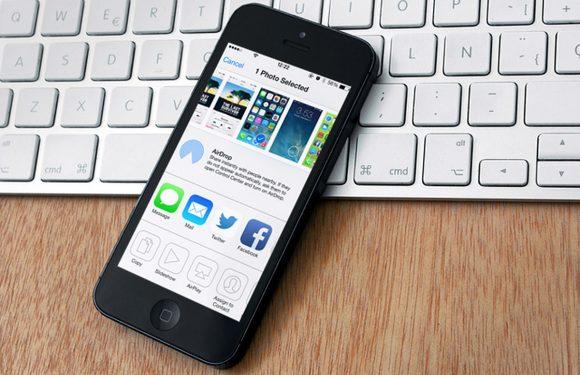 iPhone AirDrop: gemakkelijk draadloos bestanden delen