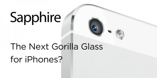 iPhone met saffierglas