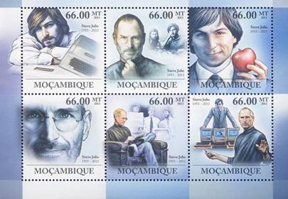 Steve Jobs postzegel