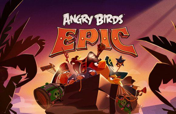 De 'epische' Angry Birds is een RPG: Angry Birds Epic