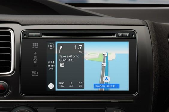 iOS in the Car heet CarPlay en verschijnt nog dit jaar in diverse auto's