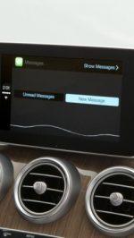 CarPlay Mercedes 5