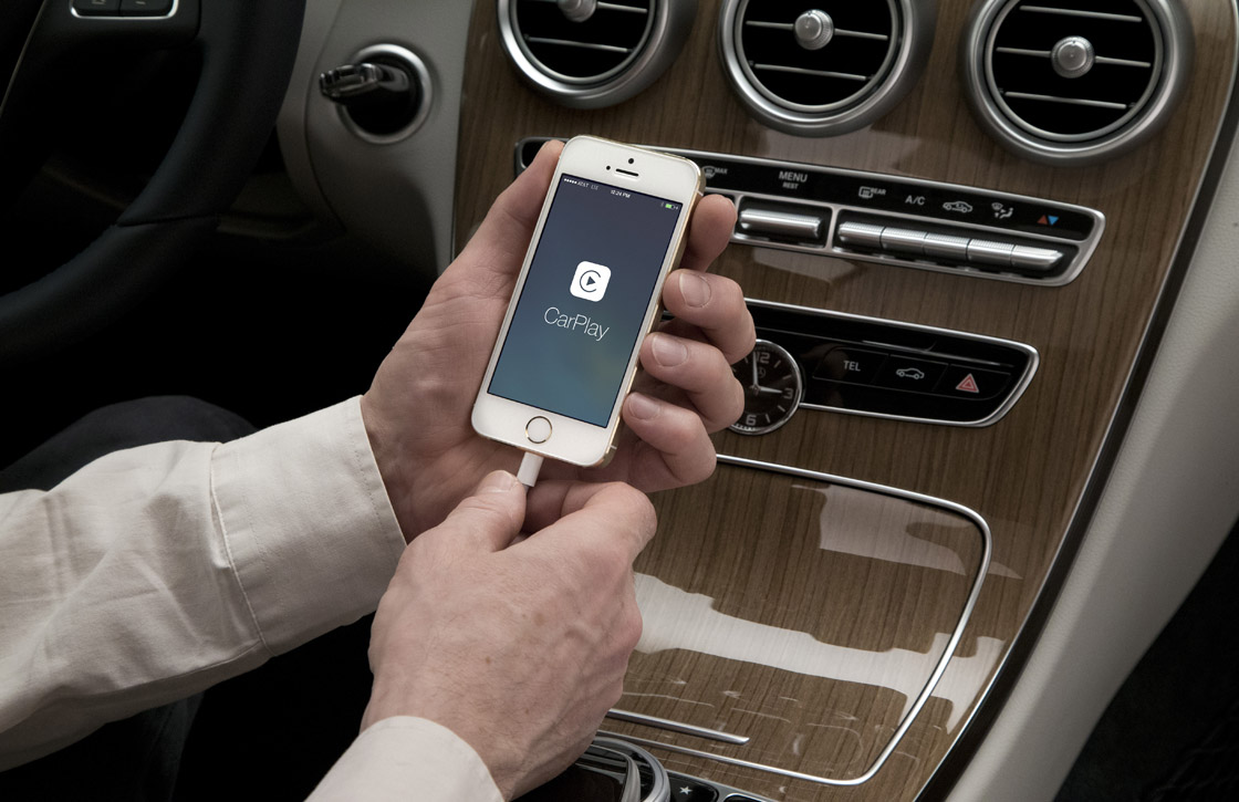 Je iPhone gebruiken in de auto