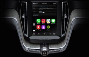 Carplay video Volvo
